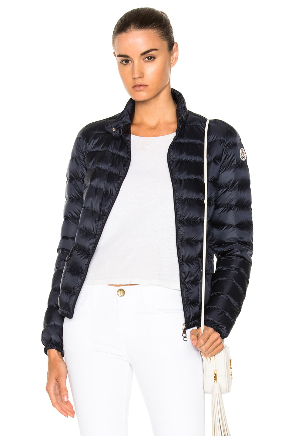 Image 1 of MONCLER Lans Polyamide Jacket in Navy