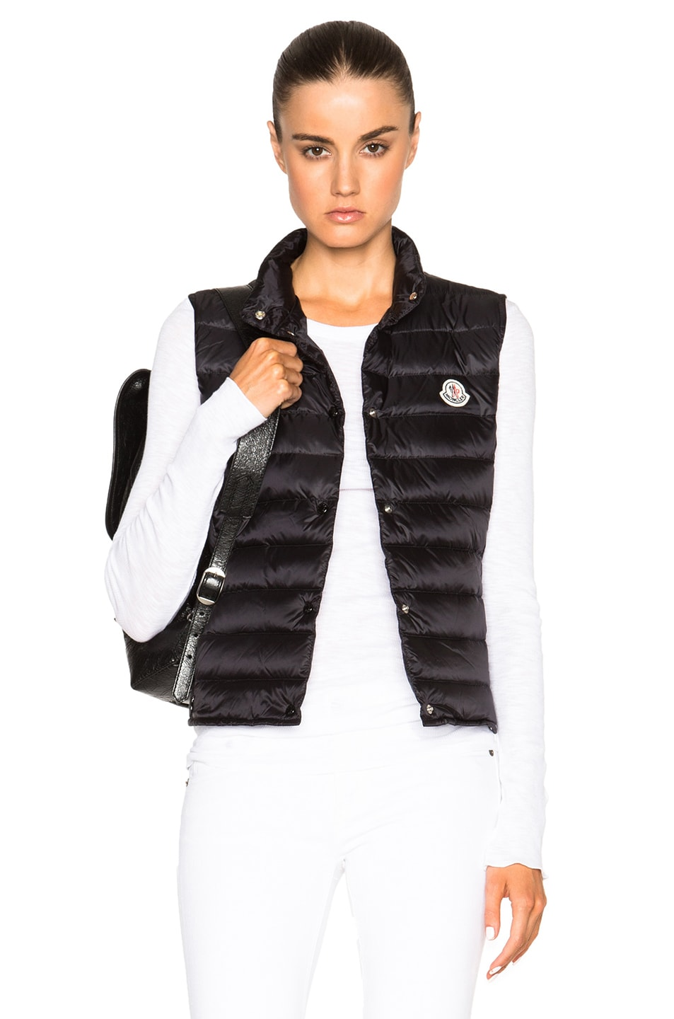 Image 1 of MONCLER Liane Polyamide Vest in Black