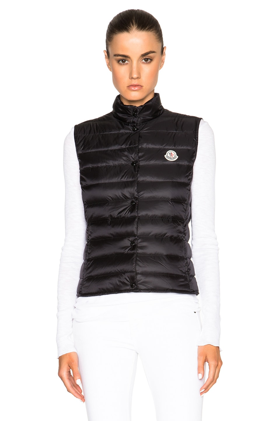 Image 2 of MONCLER Liane Polyamide Vest in Black