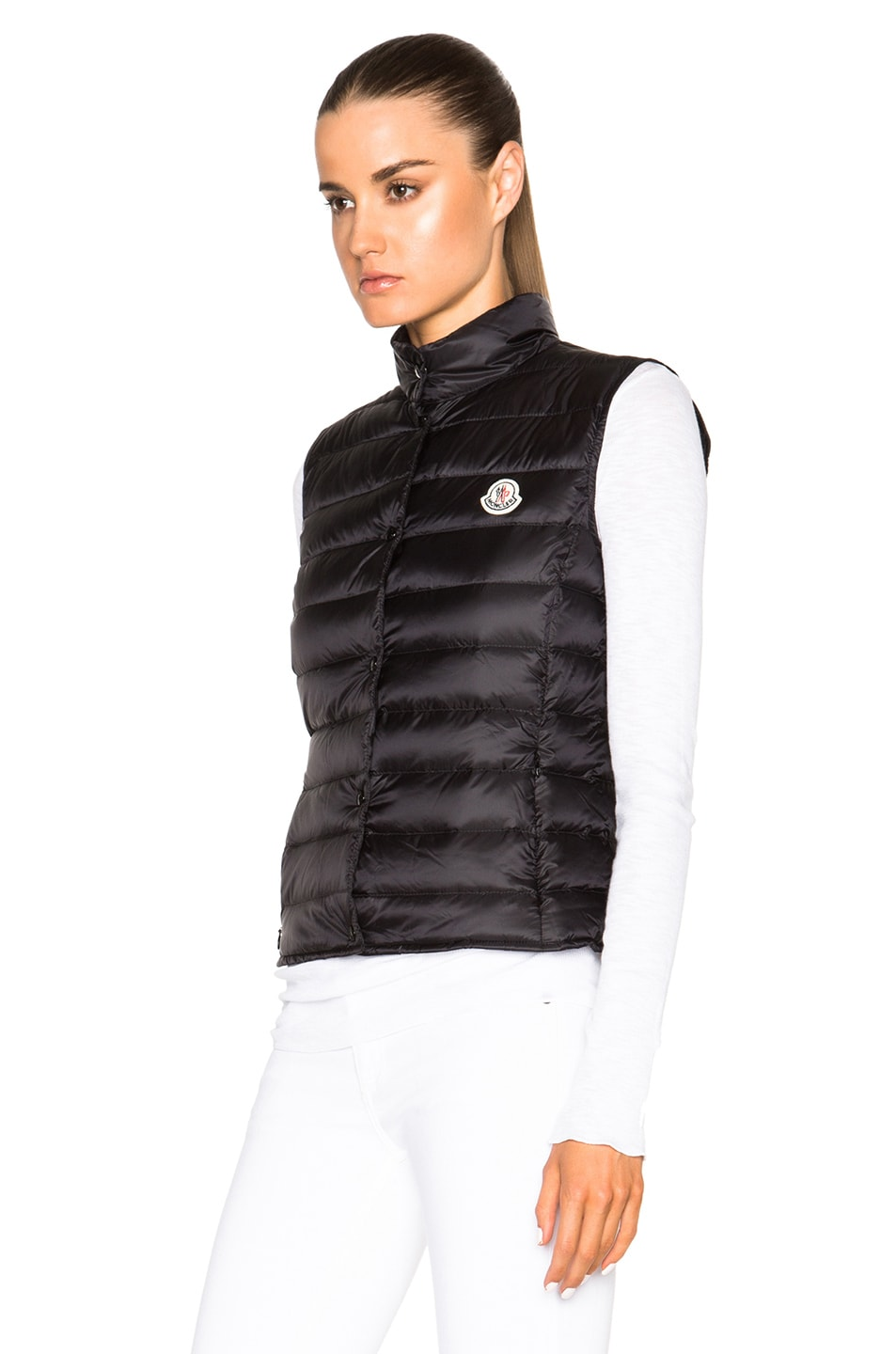 Image 3 of MONCLER Liane Polyamide Vest in Black