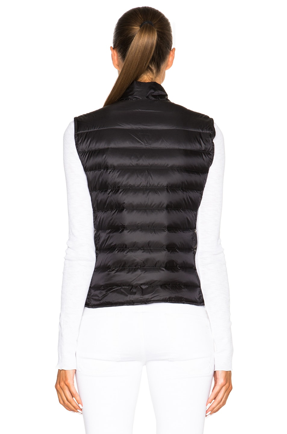 Image 5 of MONCLER Liane Polyamide Vest in Black