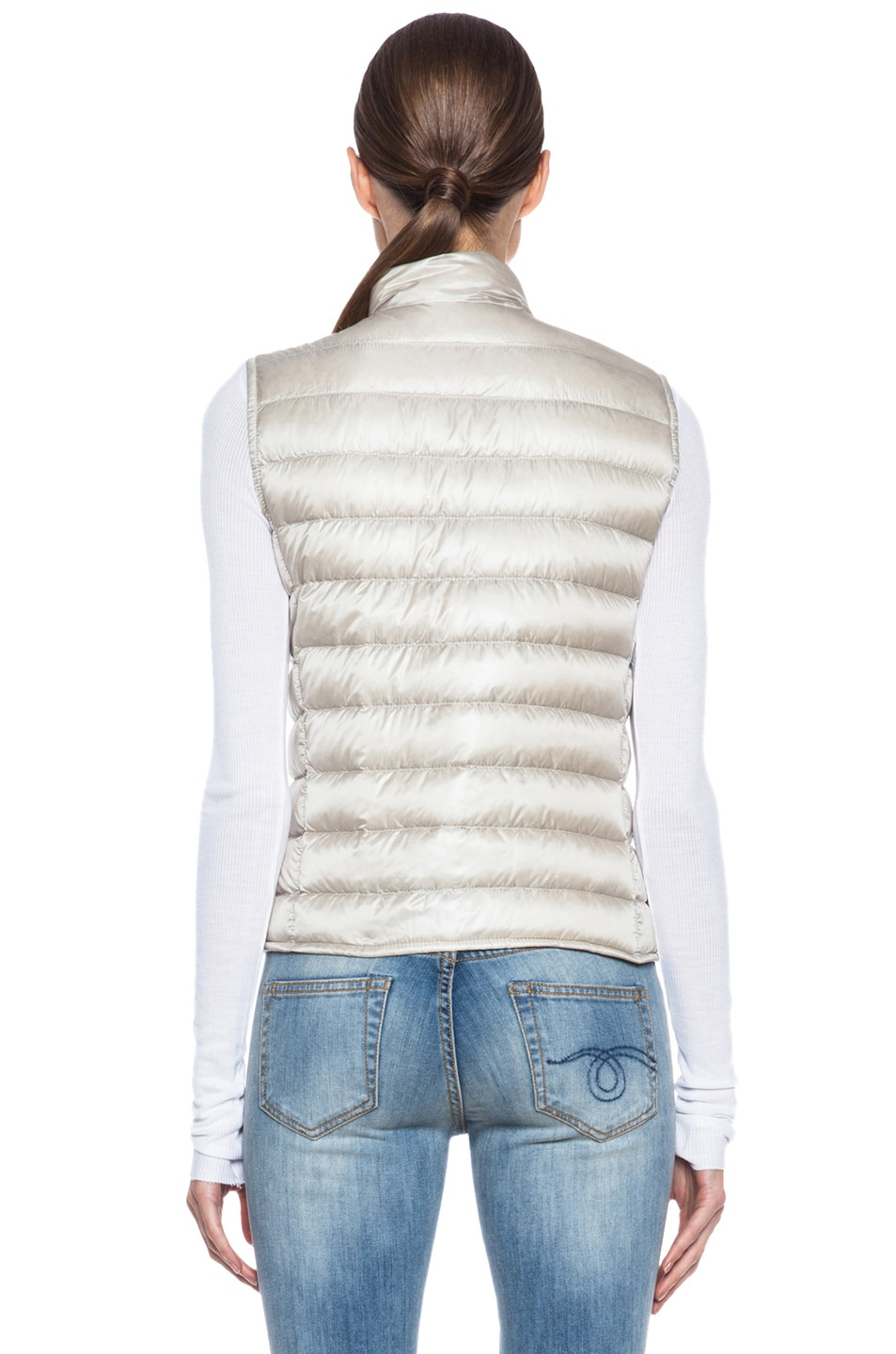 Image 5 of MONCLER Liane Polyamide Vest in Bone