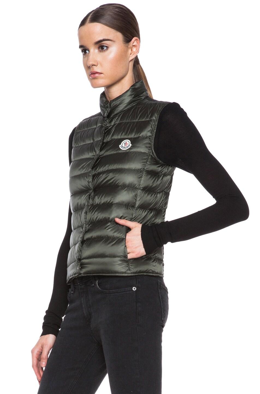 Image 3 of MONCLER Liane Polyamide Vest in Olive