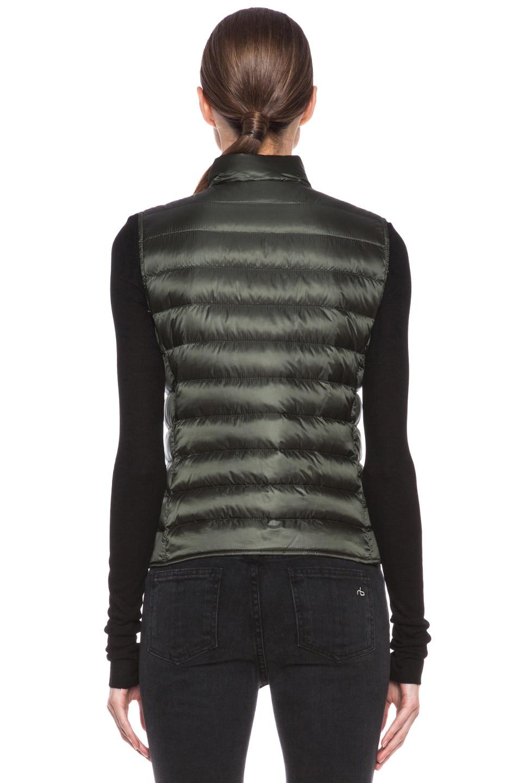 Image 5 of MONCLER Liane Polyamide Vest in Olive