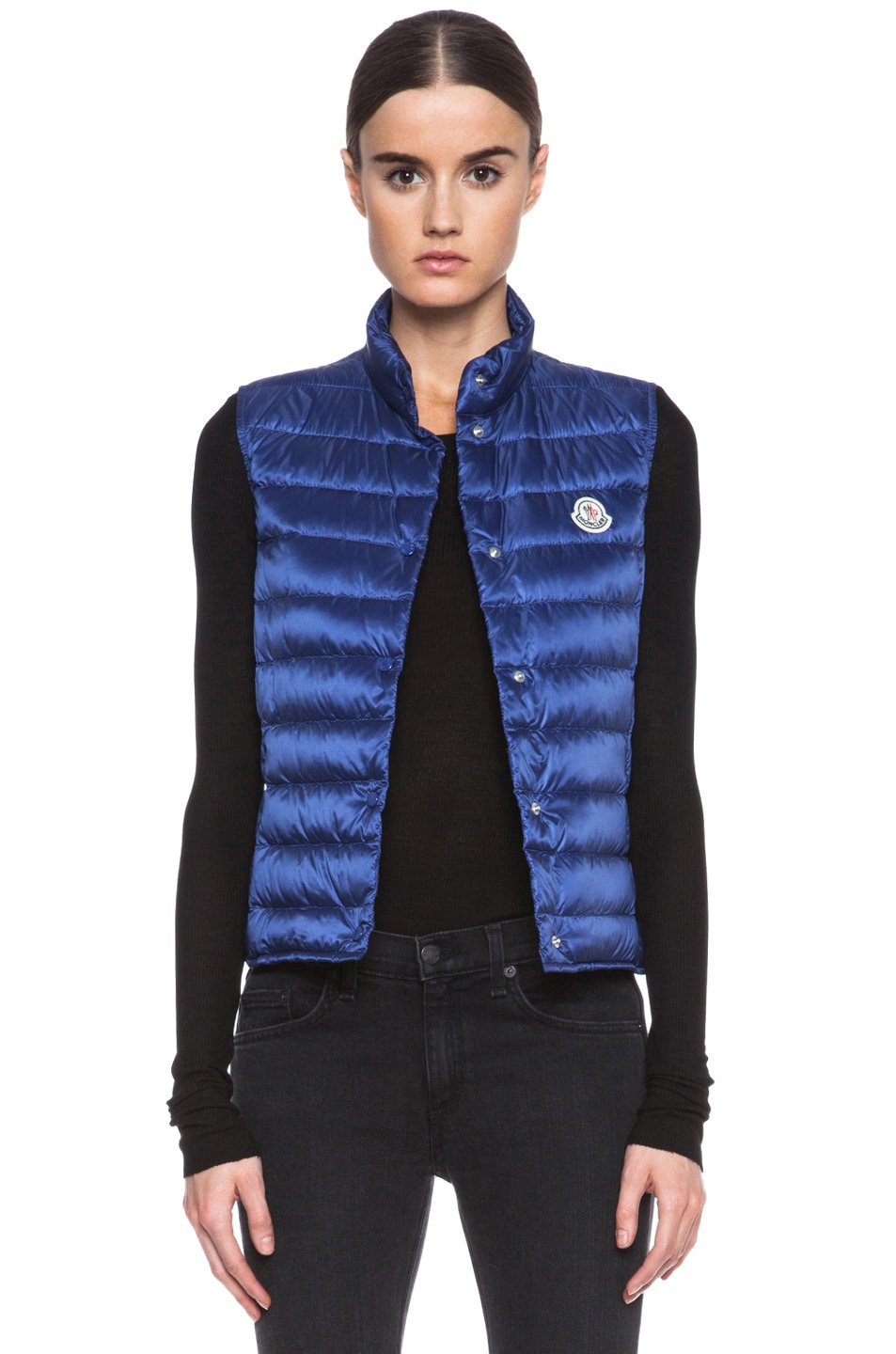 Image 1 of MONCLER Liane Polyamide Vest in Royal