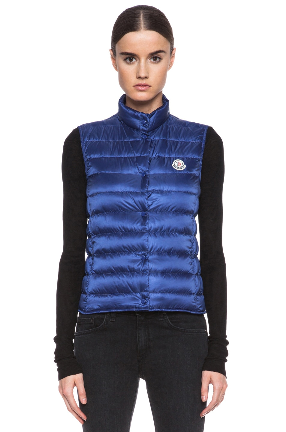 Image 2 of MONCLER Liane Polyamide Vest in Royal