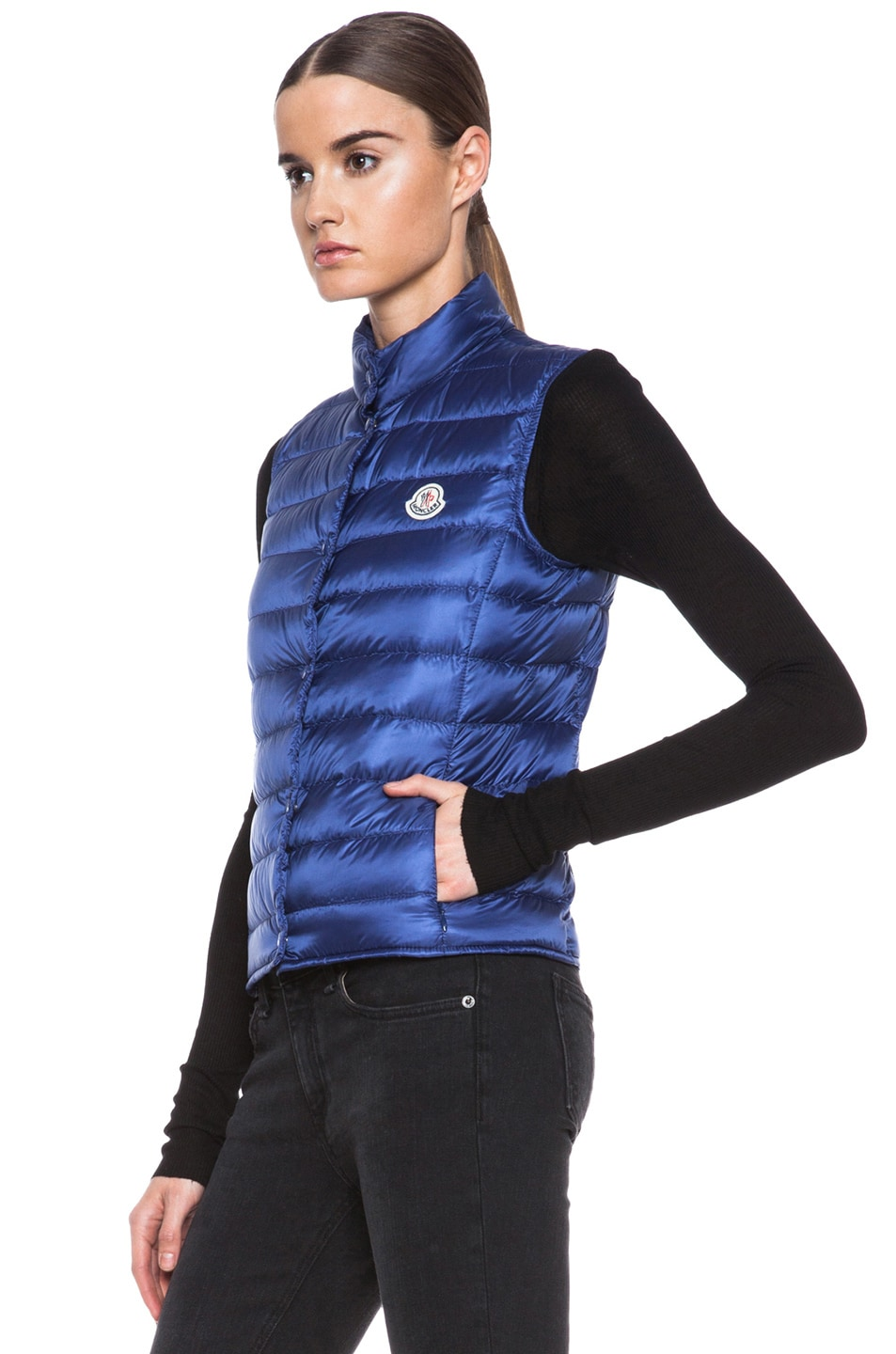 Image 3 of MONCLER Liane Polyamide Vest in Royal