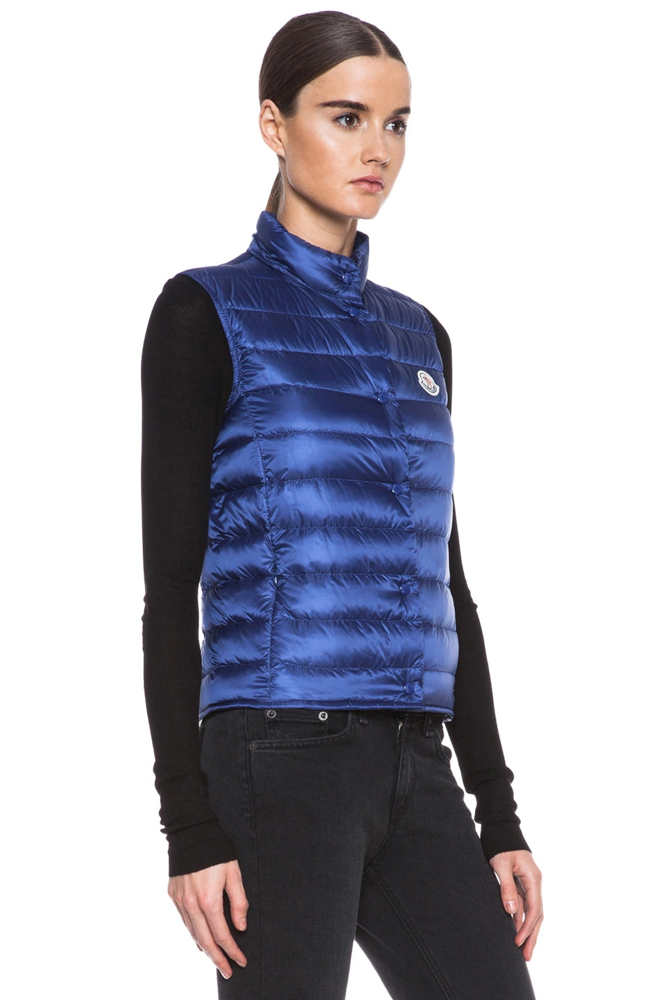 Image 4 of MONCLER Liane Polyamide Vest in Royal