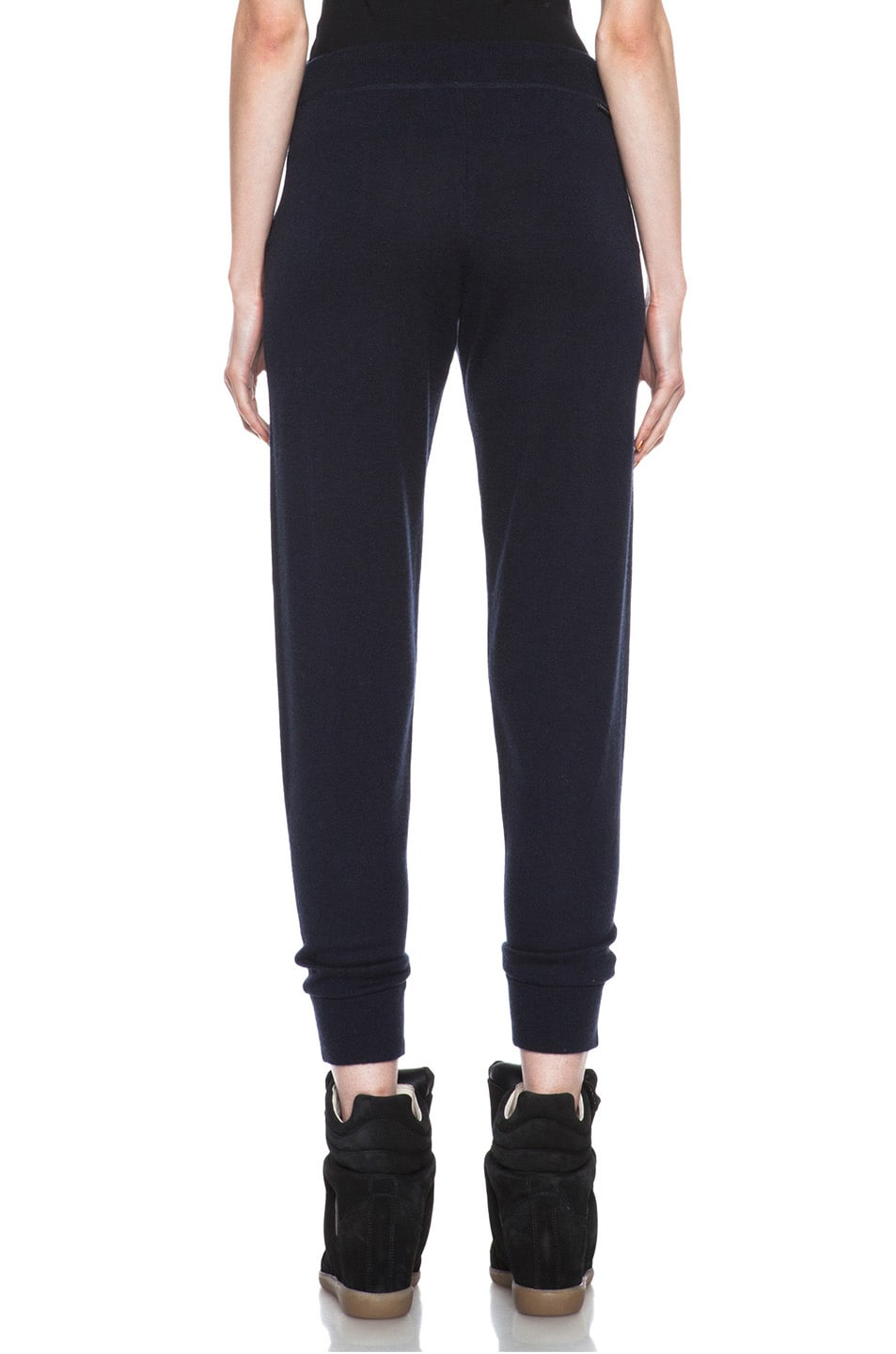 Image 4 of MONCLER Cashmere Sweatpant in Navy