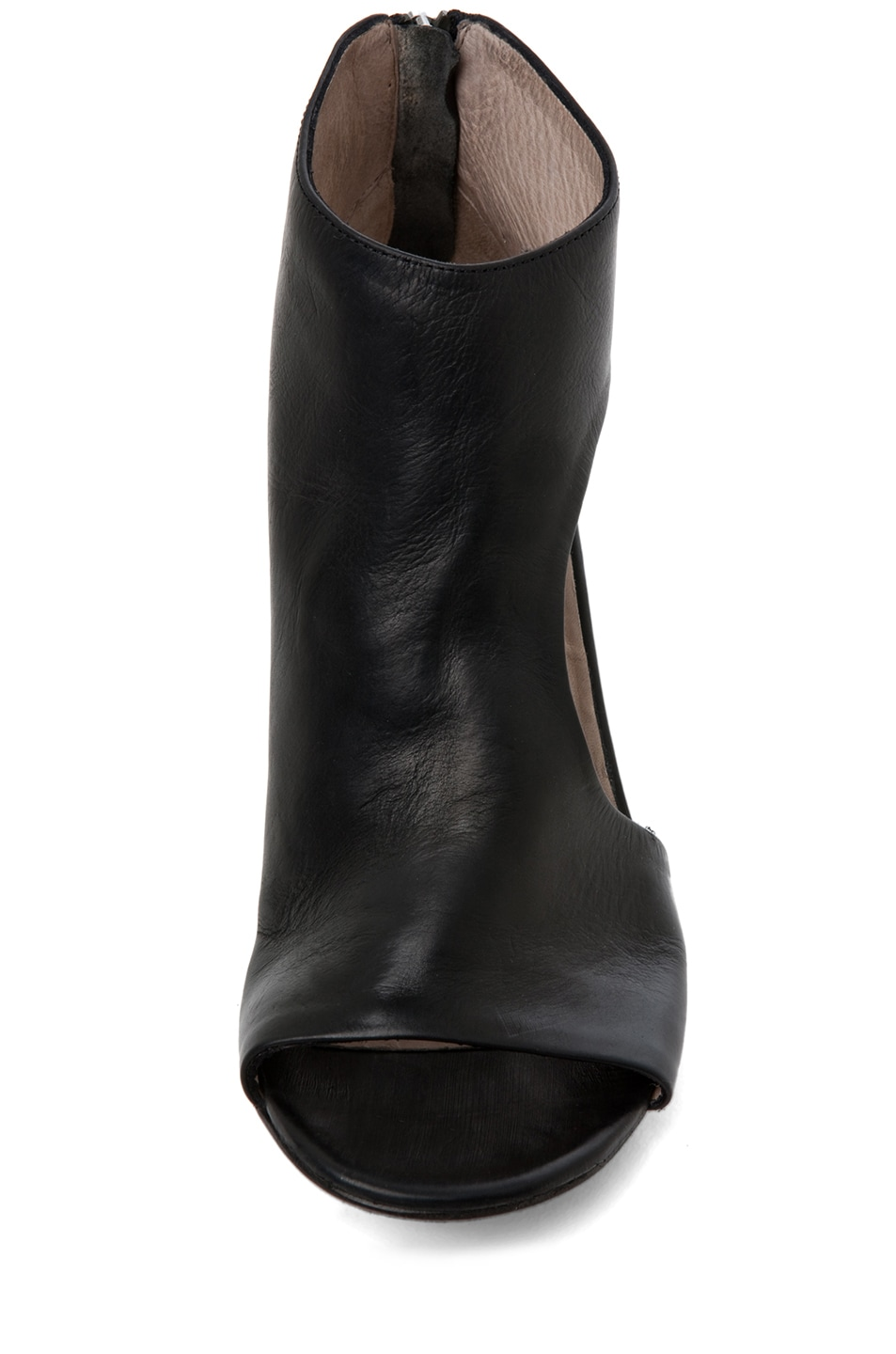 Image 4 of Marsell Bo Leather Booties in Black