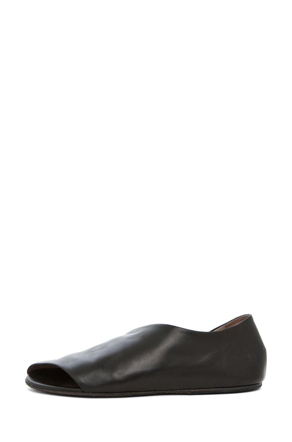 Image 1 of Marsell Arsella Flat in Black
