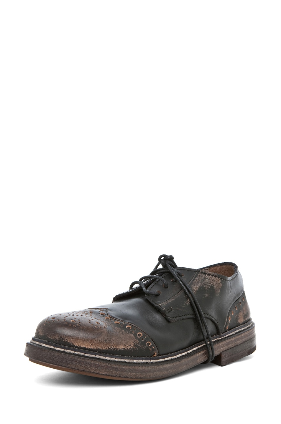 Image 2 of Marsell Gru Oxford in Black
