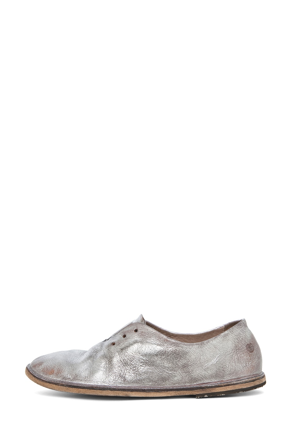 Image 1 of Marsell Strasacco Loafer in Silver