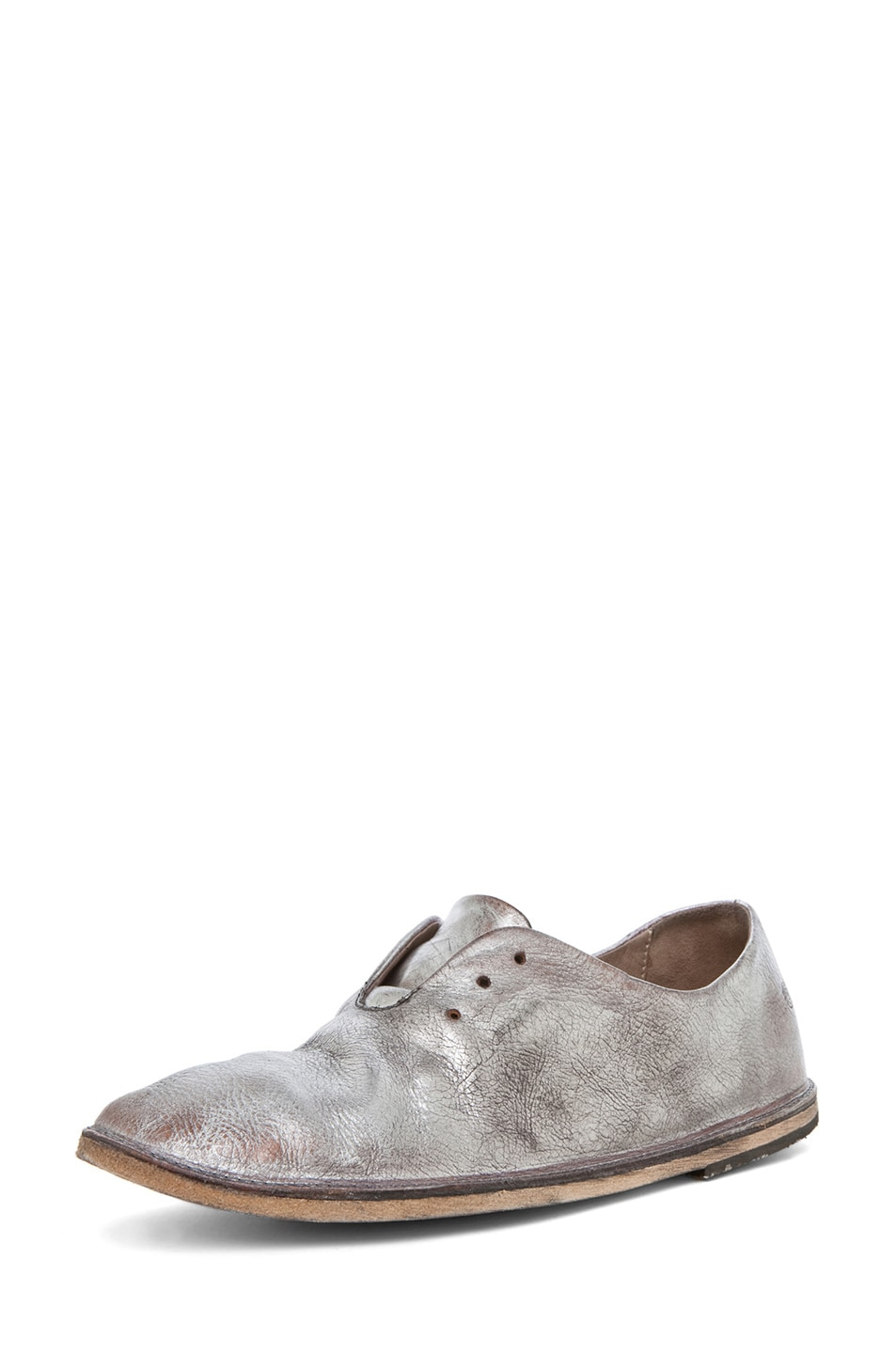 Image 2 of Marsell Strasacco Loafer in Silver