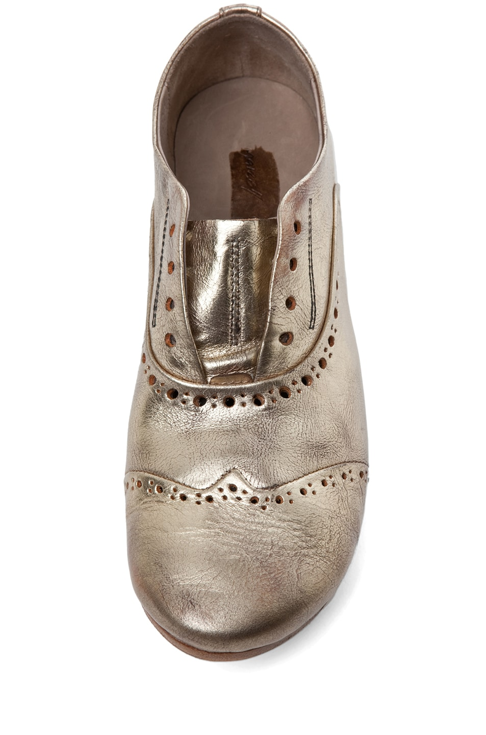 Image 4 of Marsell Lupin Loafer in Gold