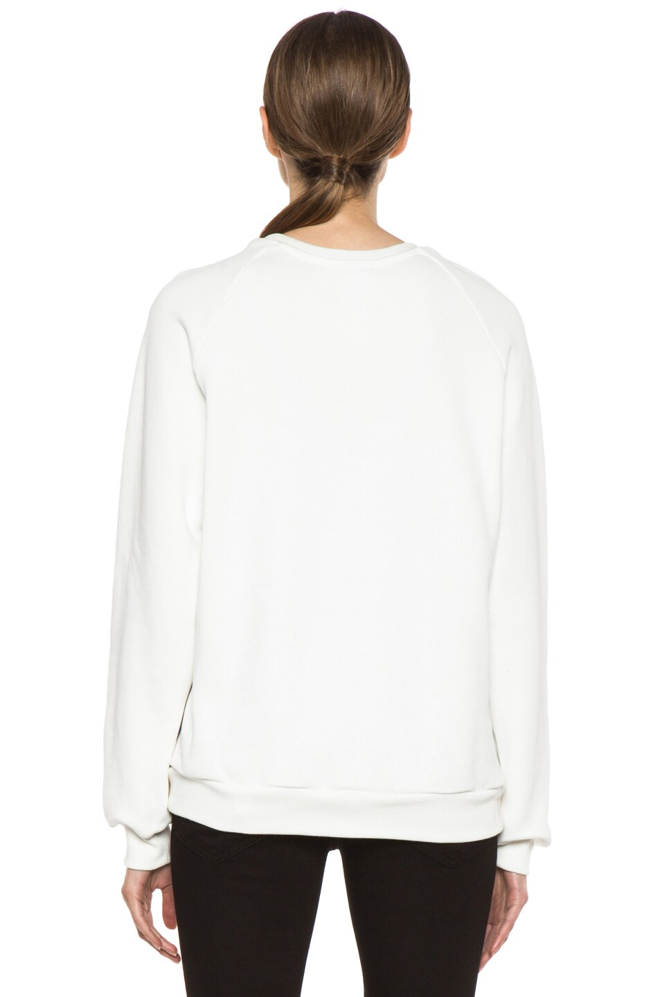Image 4 of MSGM Organza Sweater in White & Floral