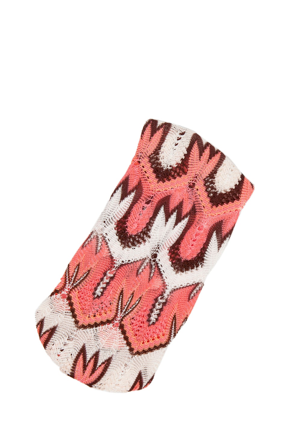 Image 2 of Missoni Fascia Head Band in Pink