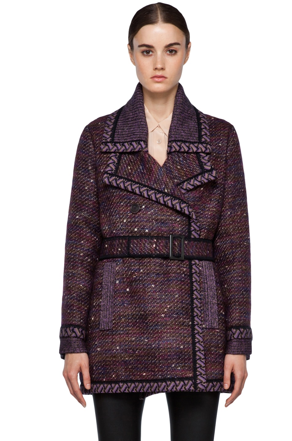 Image 1 of Missoni Coat in Purple