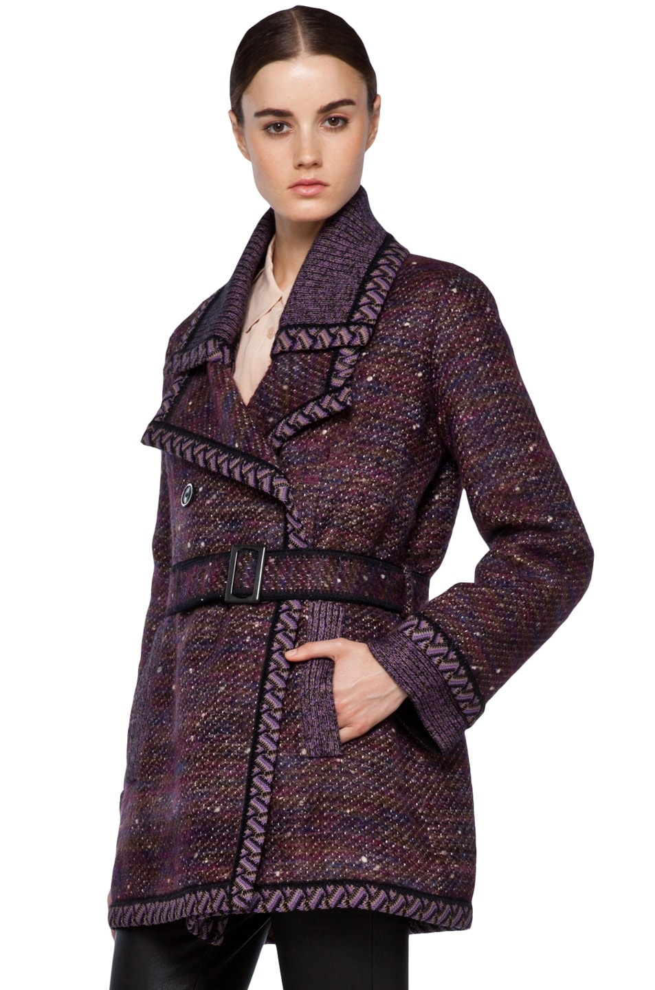 Image 3 of Missoni Coat in Purple