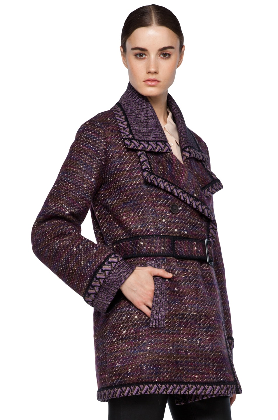 Image 4 of Missoni Coat in Purple
