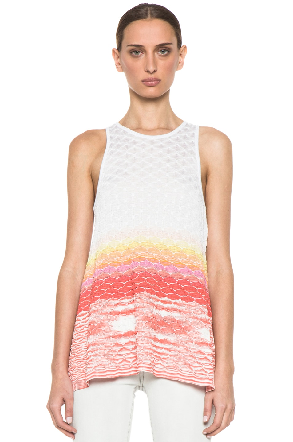 Image 1 of Missoni Sleeveless Tunic in Multi