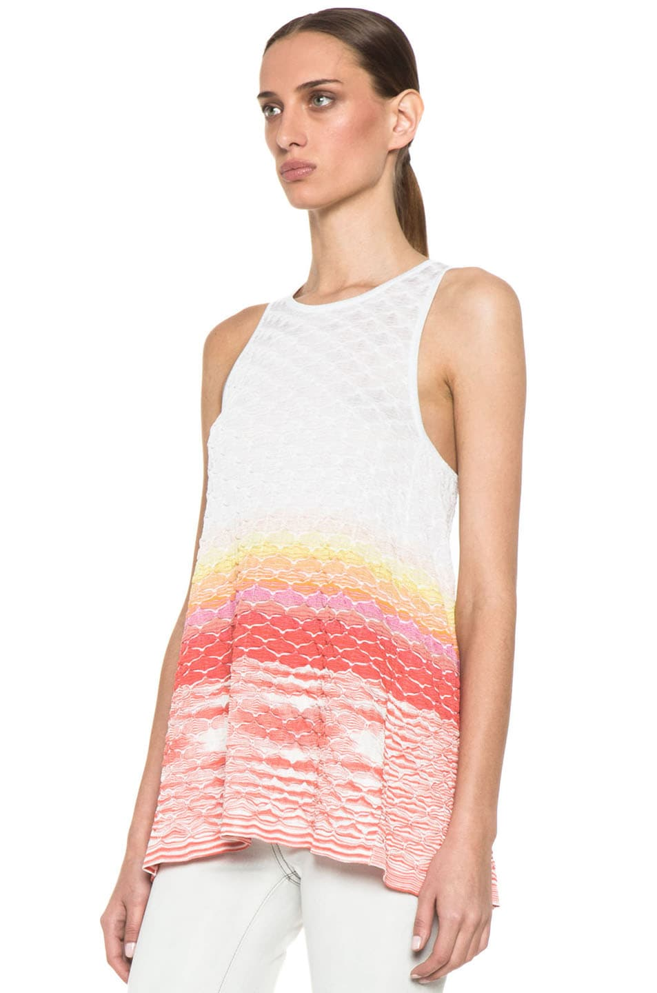 Image 2 of Missoni Sleeveless Tunic in Multi
