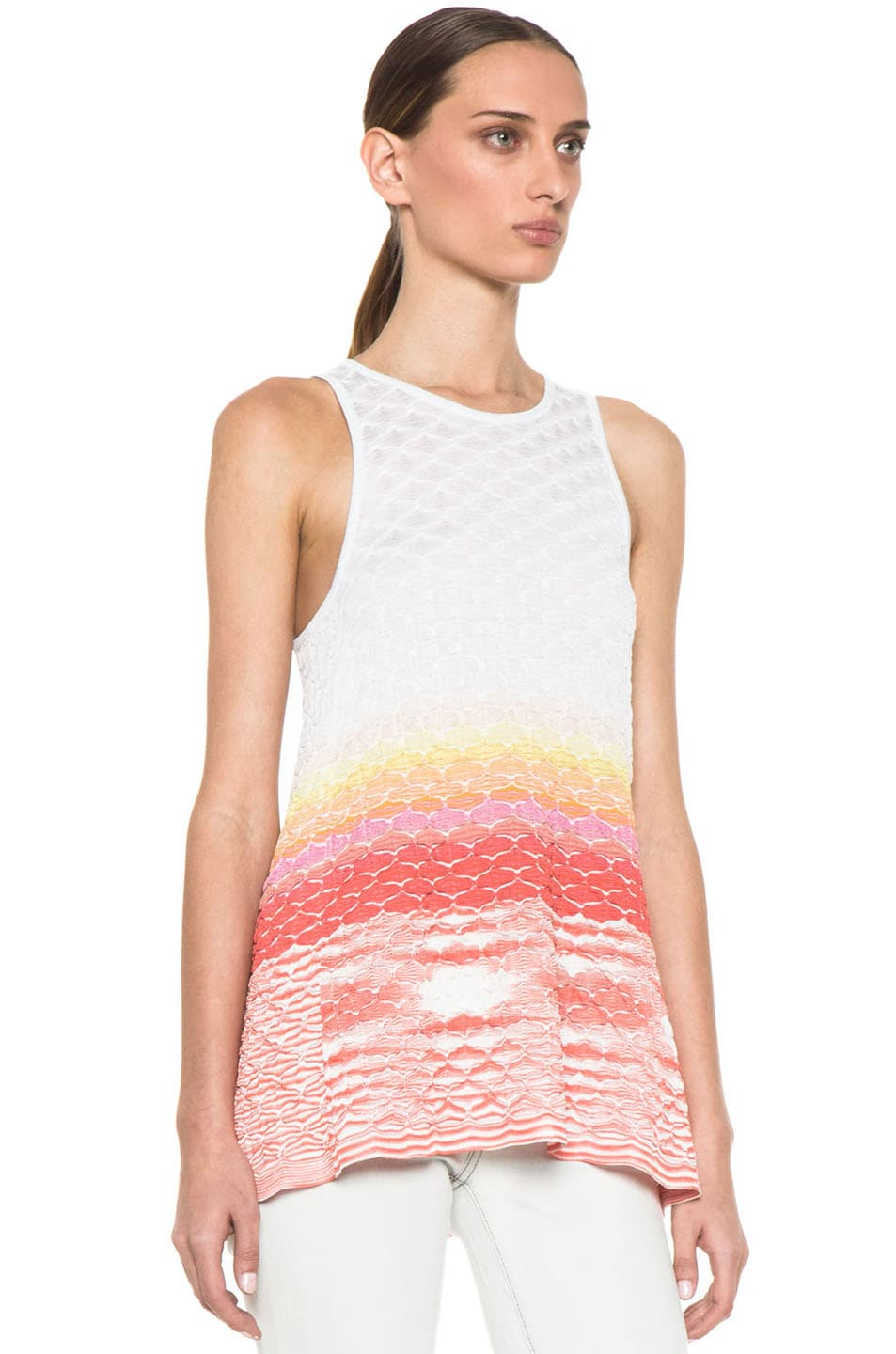 Image 3 of Missoni Sleeveless Tunic in Multi