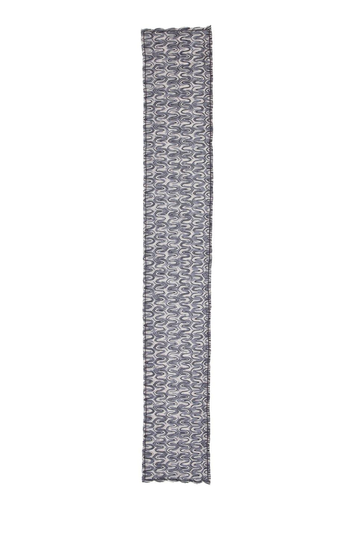 Image 2 of Missoni Zig Zag Scarf in Grey