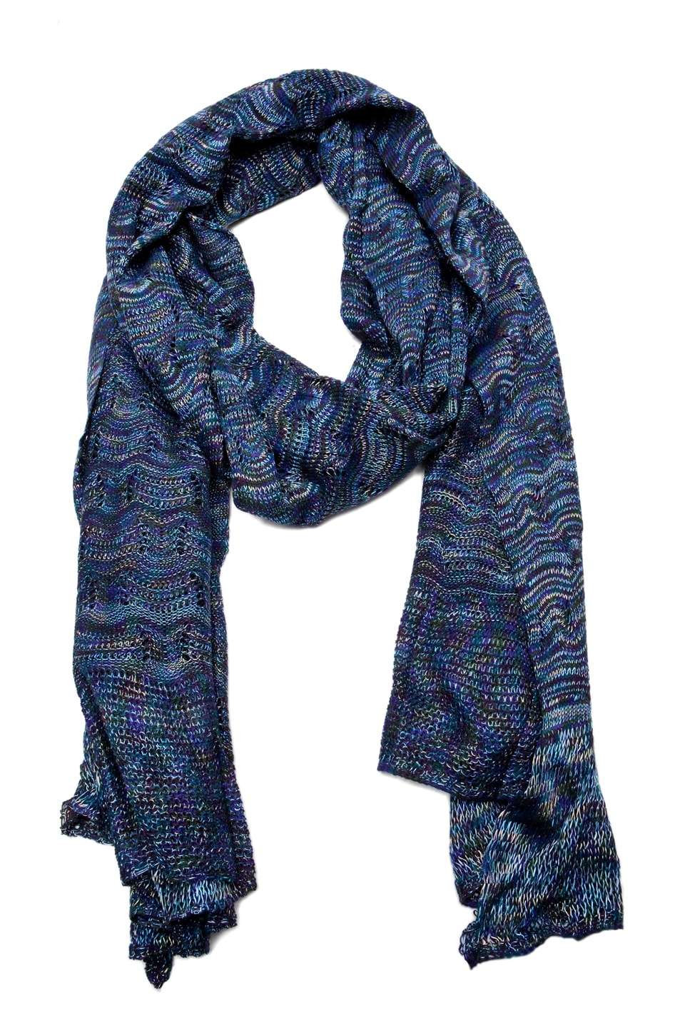 Image 1 of Missoni Scarf in Blue