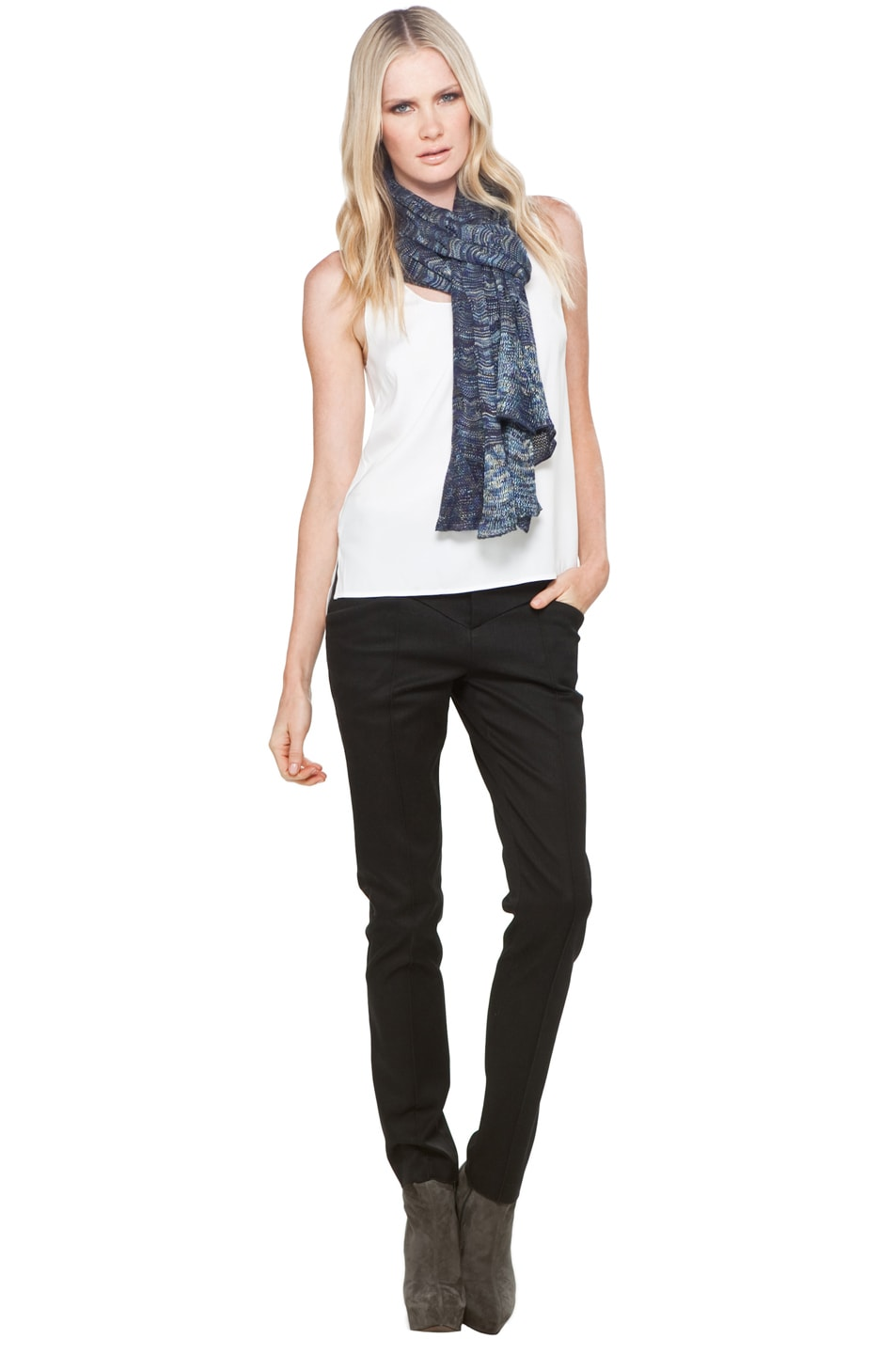 Image 4 of Missoni Scarf in Blue