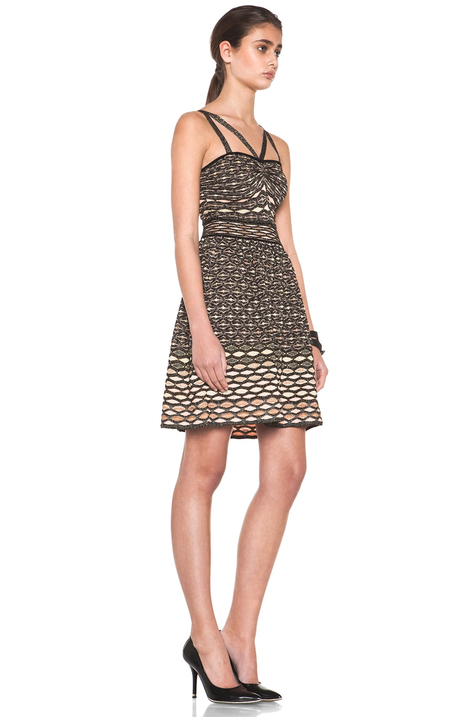 Image 3 of M Missoni Dress in Black Multi