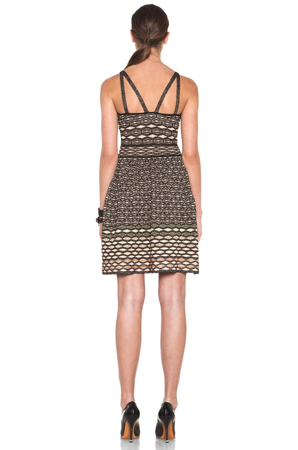 Image 4 of M Missoni Dress in Black Multi