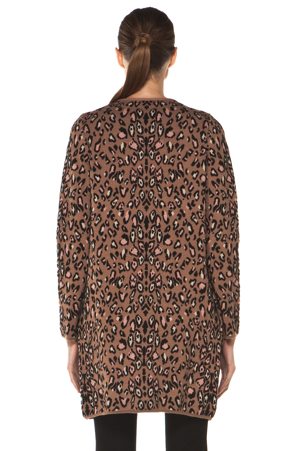 Image 5 of M Missoni Leopard Stitch Coat