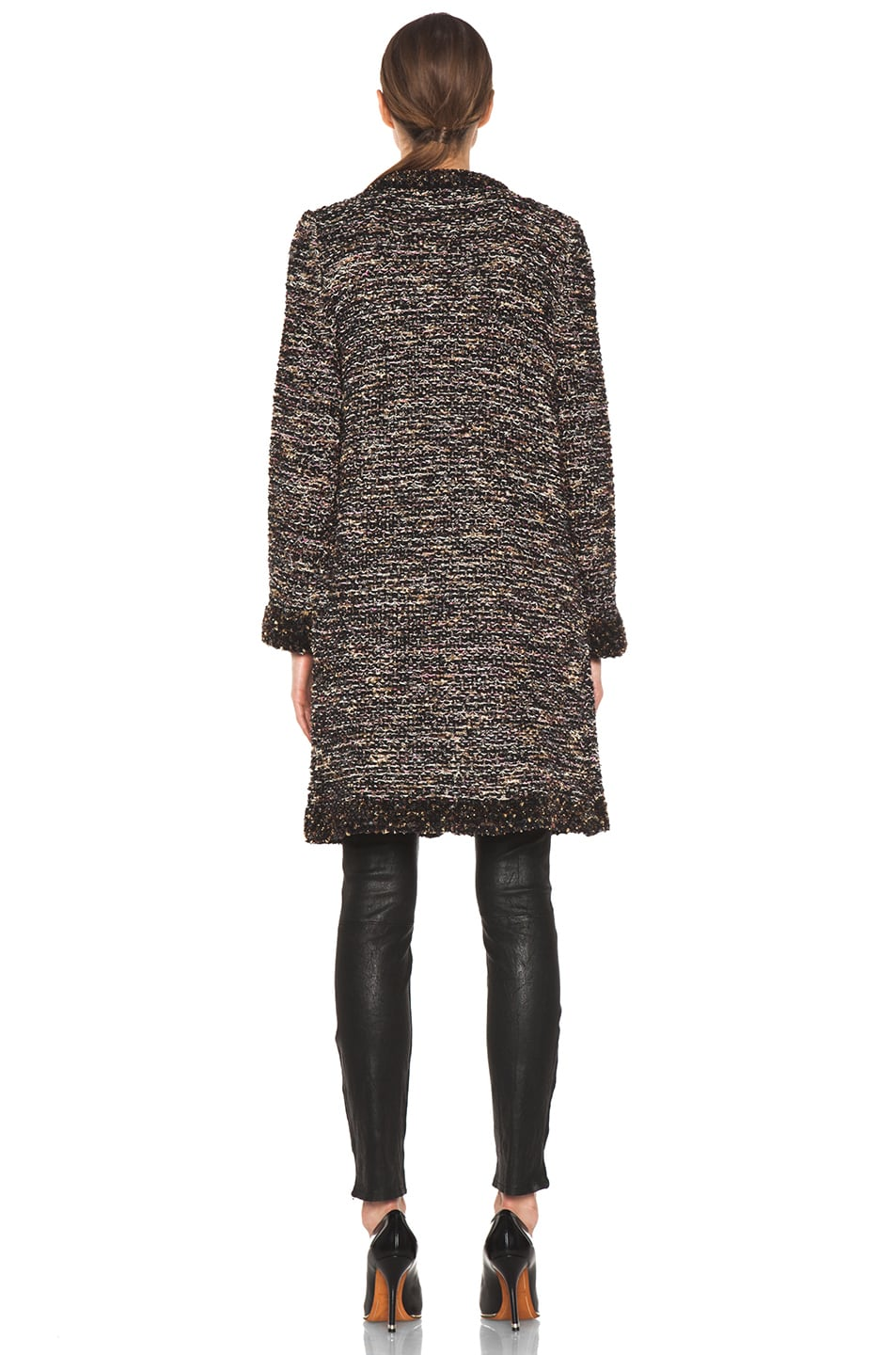 Image 5 of M Missoni Coat in Black Multi