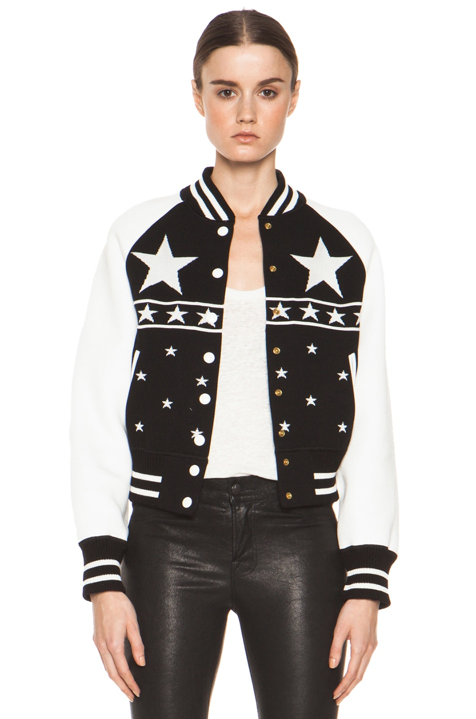 Image 1 of M Missoni Bomber Jacket in Black