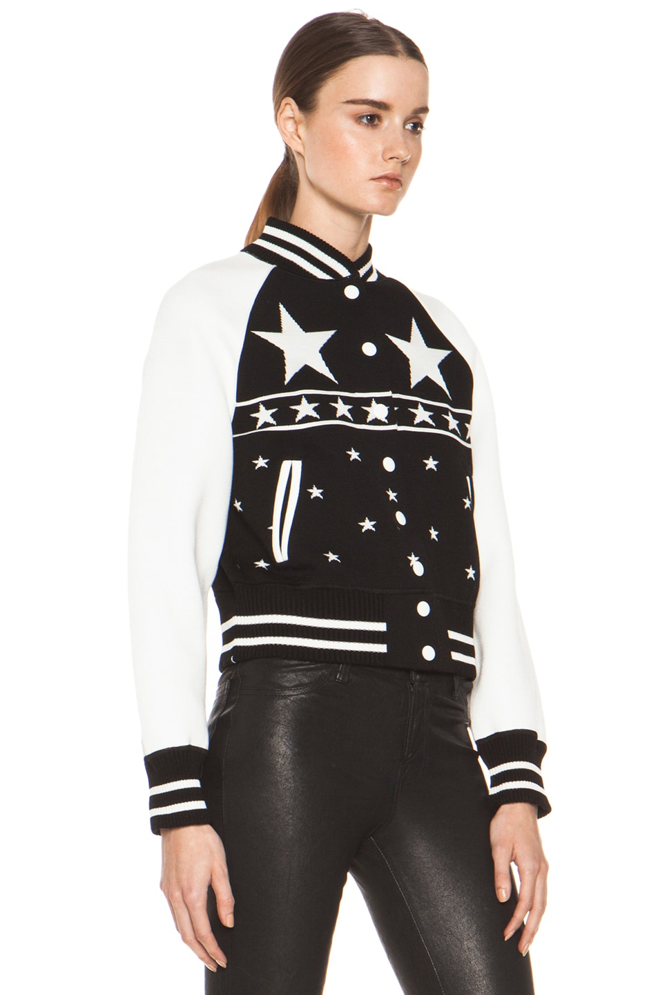 Image 4 of M Missoni Bomber Jacket in Black