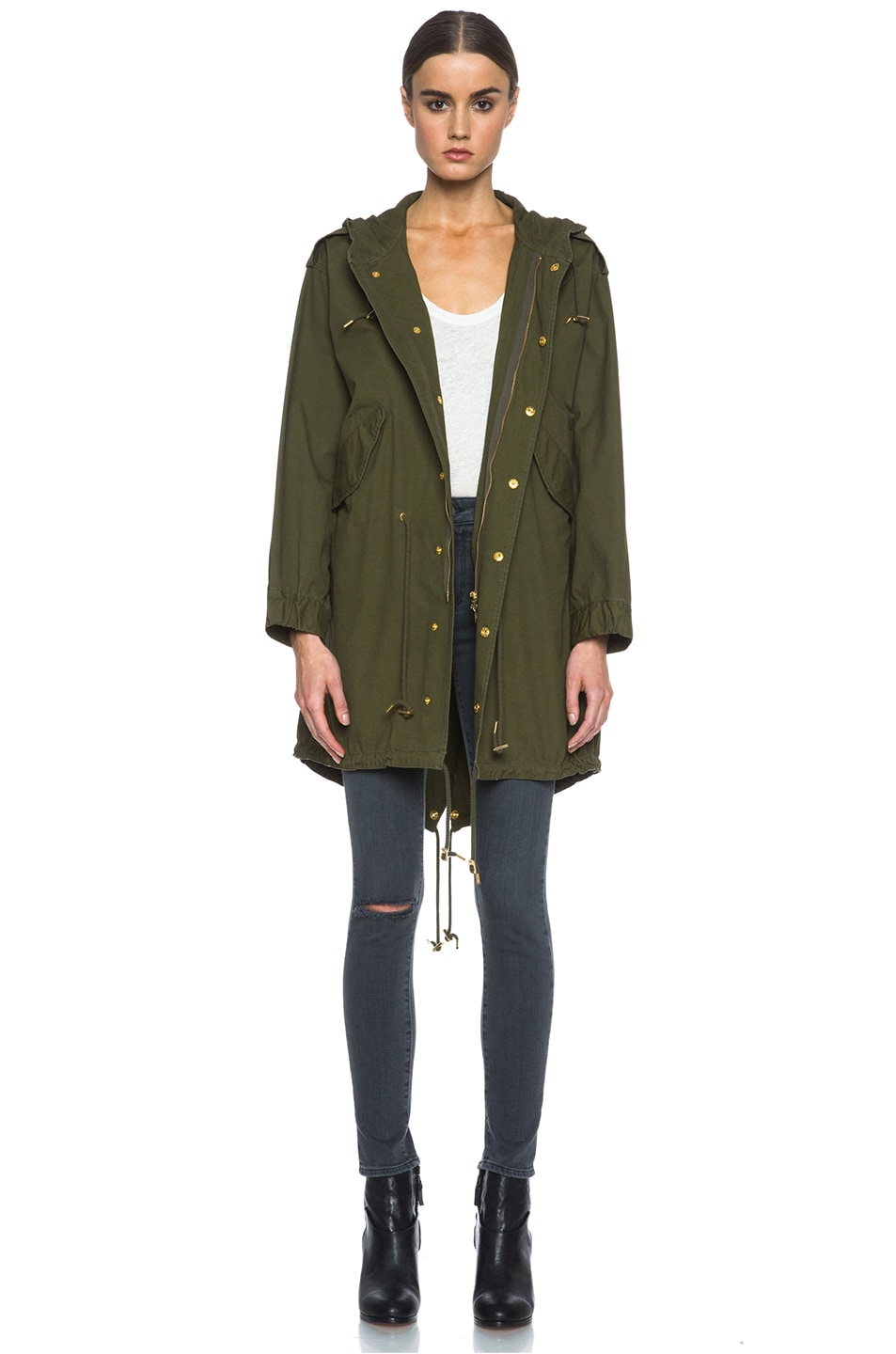Image 1 of M Missoni Cotton Jacket in Army