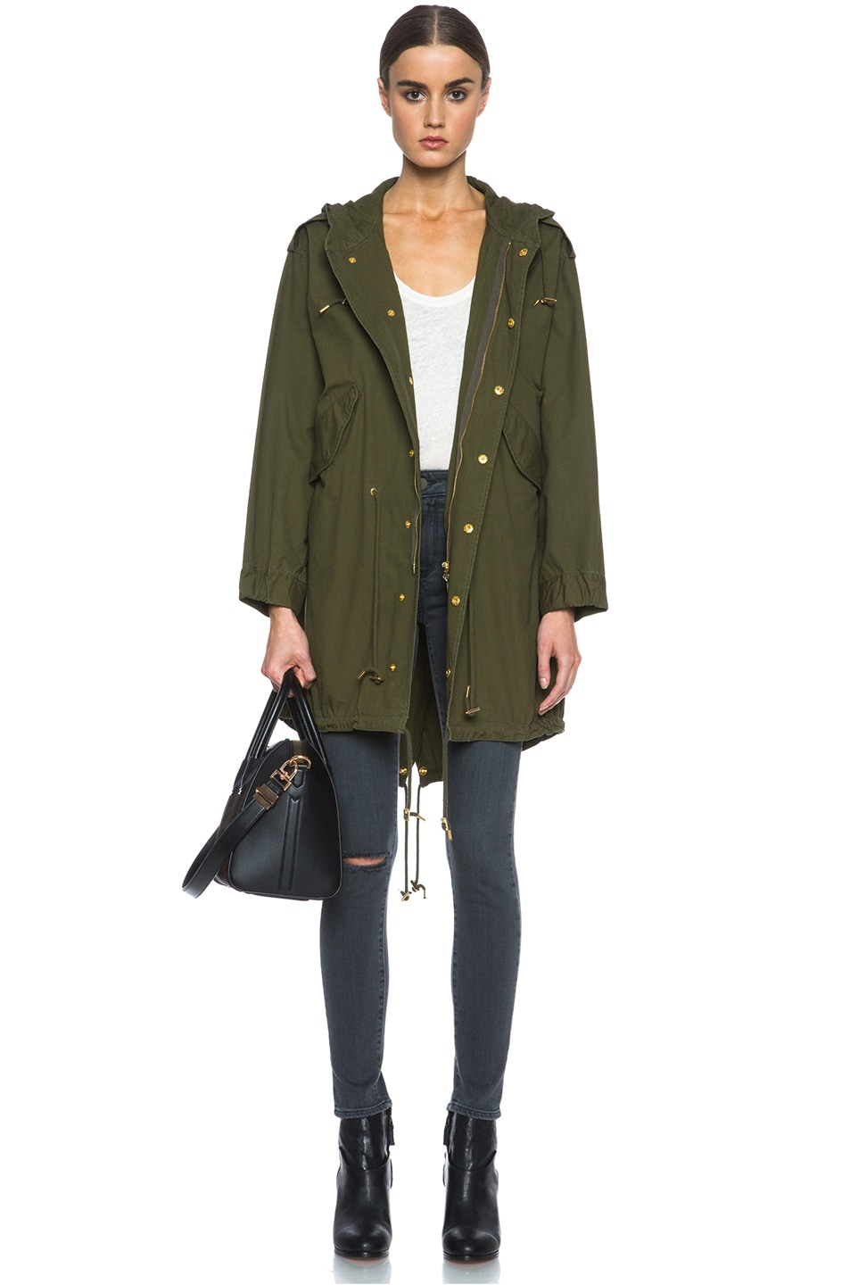 Image 6 of M Missoni Cotton Jacket in Army