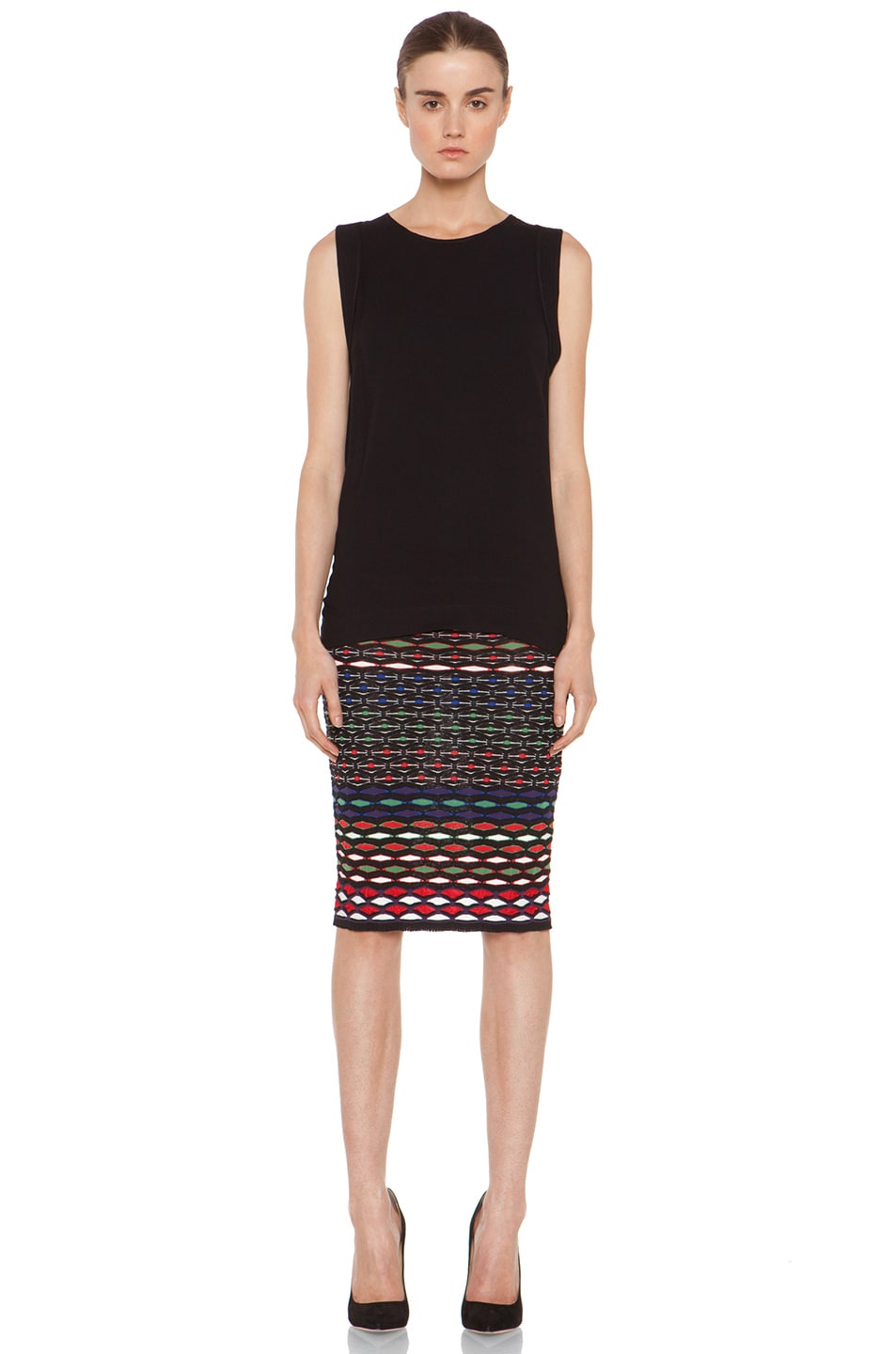 Image 5 of M Missoni Tube Skirt in Royal Multi