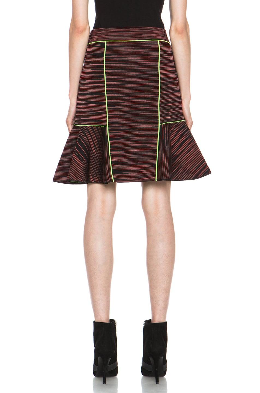Image 4 of M Missoni Neoprene Skirt in Russet