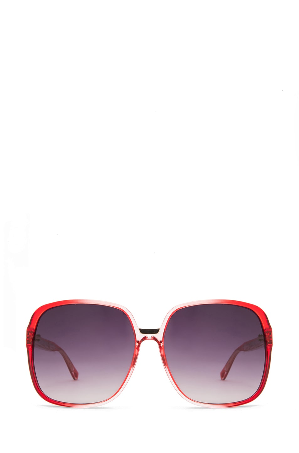 Image 1 of Matthew Williamson Gradient Sunglasses in Coral