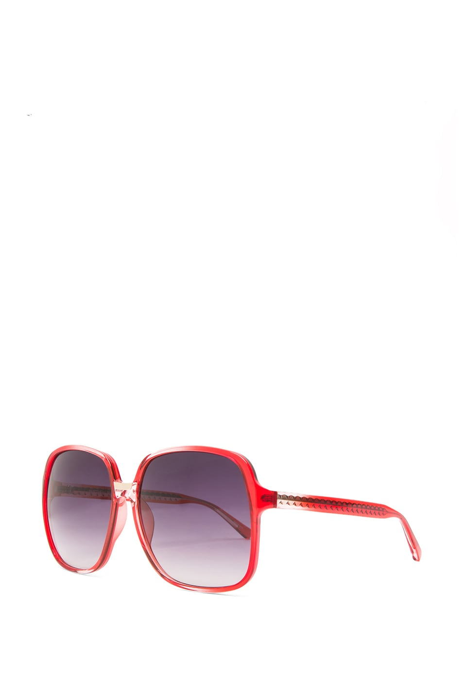 Image 2 of Matthew Williamson Gradient Sunglasses in Coral