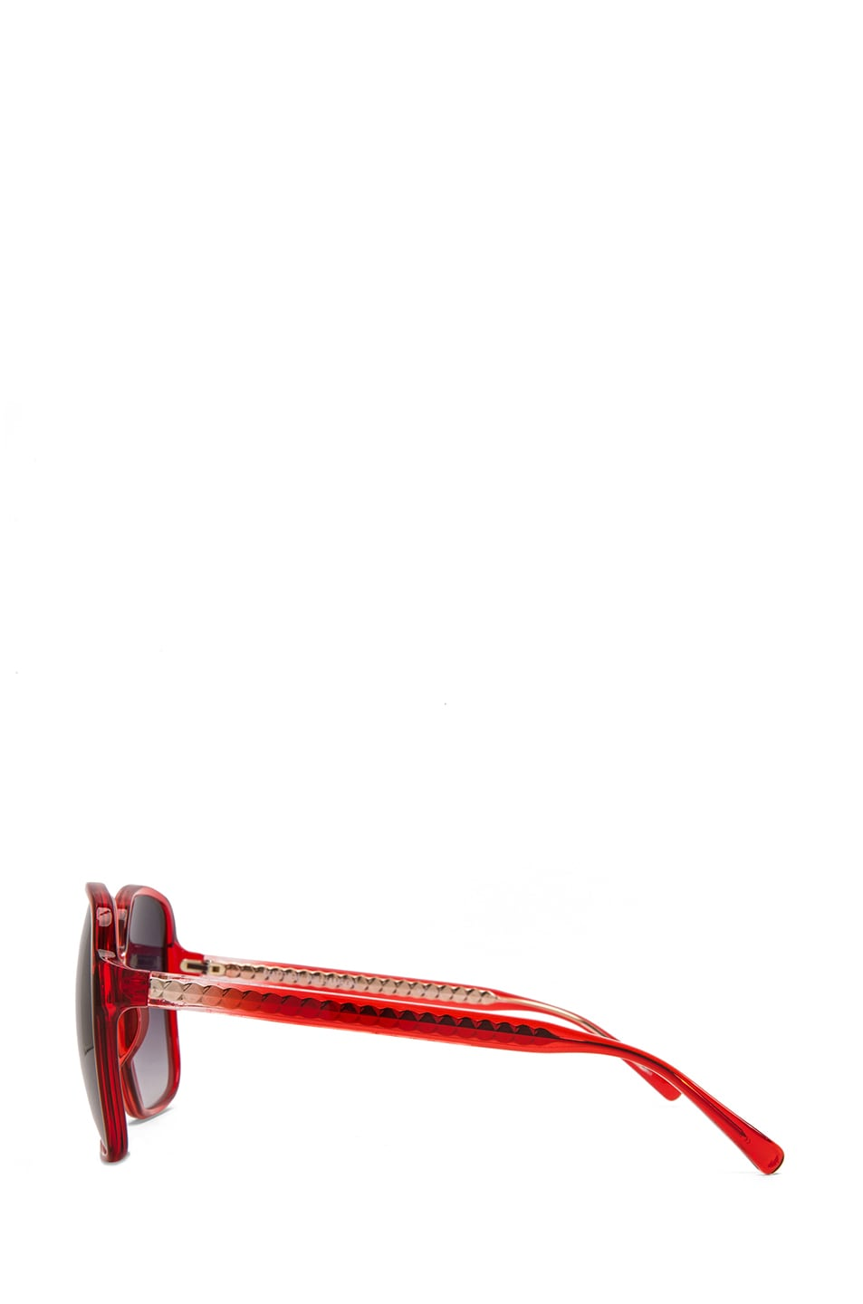 Image 3 of Matthew Williamson Gradient Sunglasses in Coral