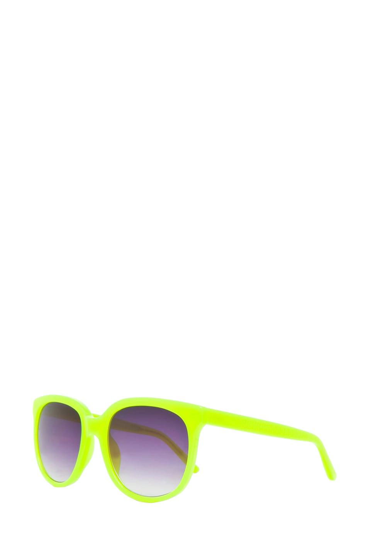 Image 2 of Matthew Williamson Sunglasses in Neon Yellow