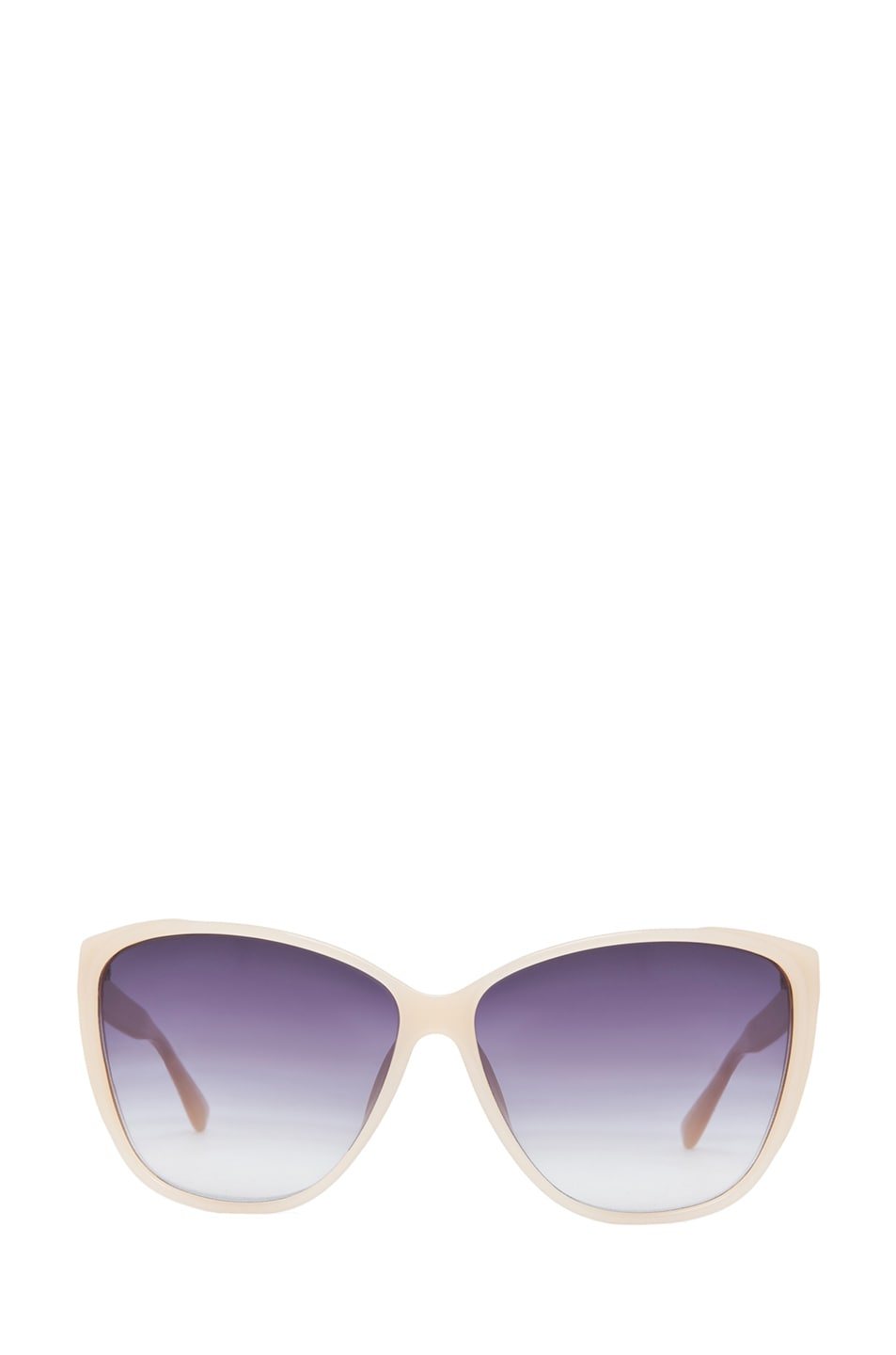 Image 1 of Matthew Williamson Cat Eye Sunglasses in Milky Peach