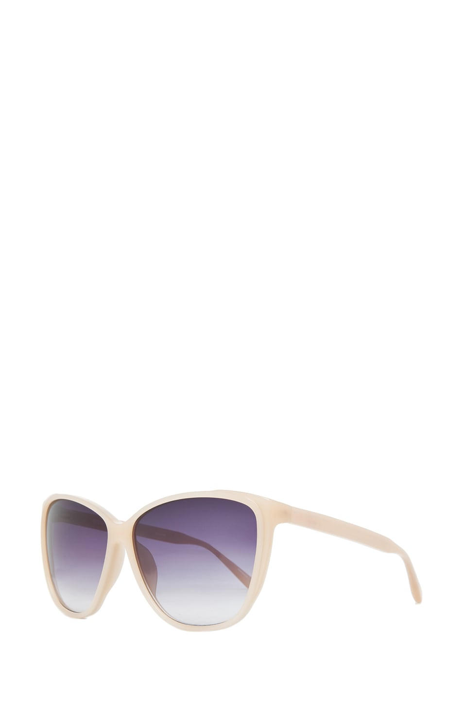 Image 2 of Matthew Williamson Cat Eye Sunglasses in Milky Peach
