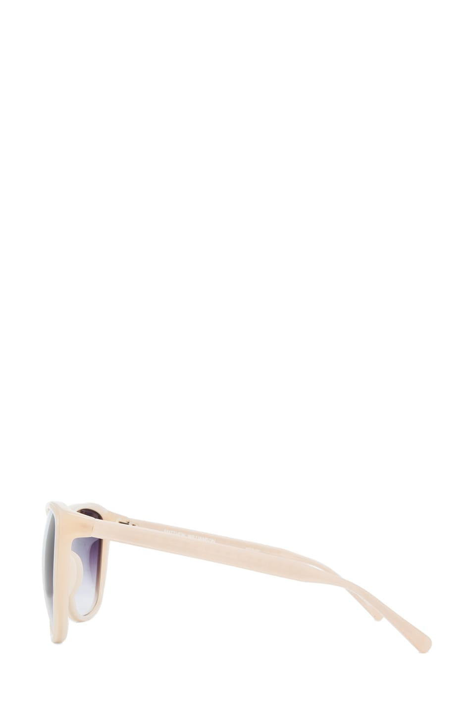 Image 3 of Matthew Williamson Cat Eye Sunglasses in Milky Peach