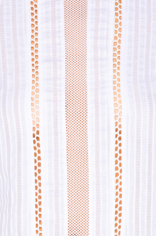 Image 5 of NICHOLAS Shoulder Panel Dress in White