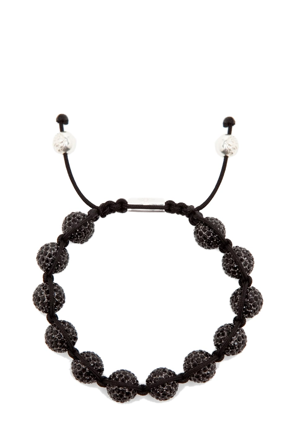 Image 1 of Nialaya Crystal Bracelet in Black