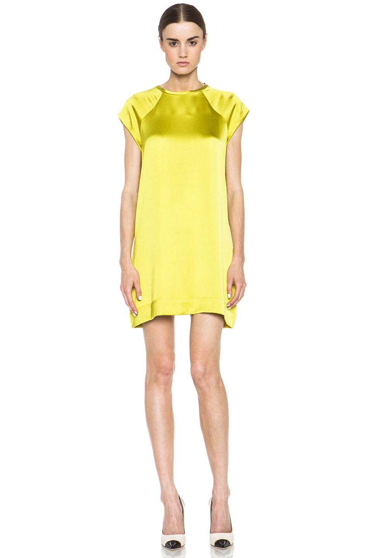 Image 1 of Nili Lotan Raglan T-Shirt Dress in Lumiere